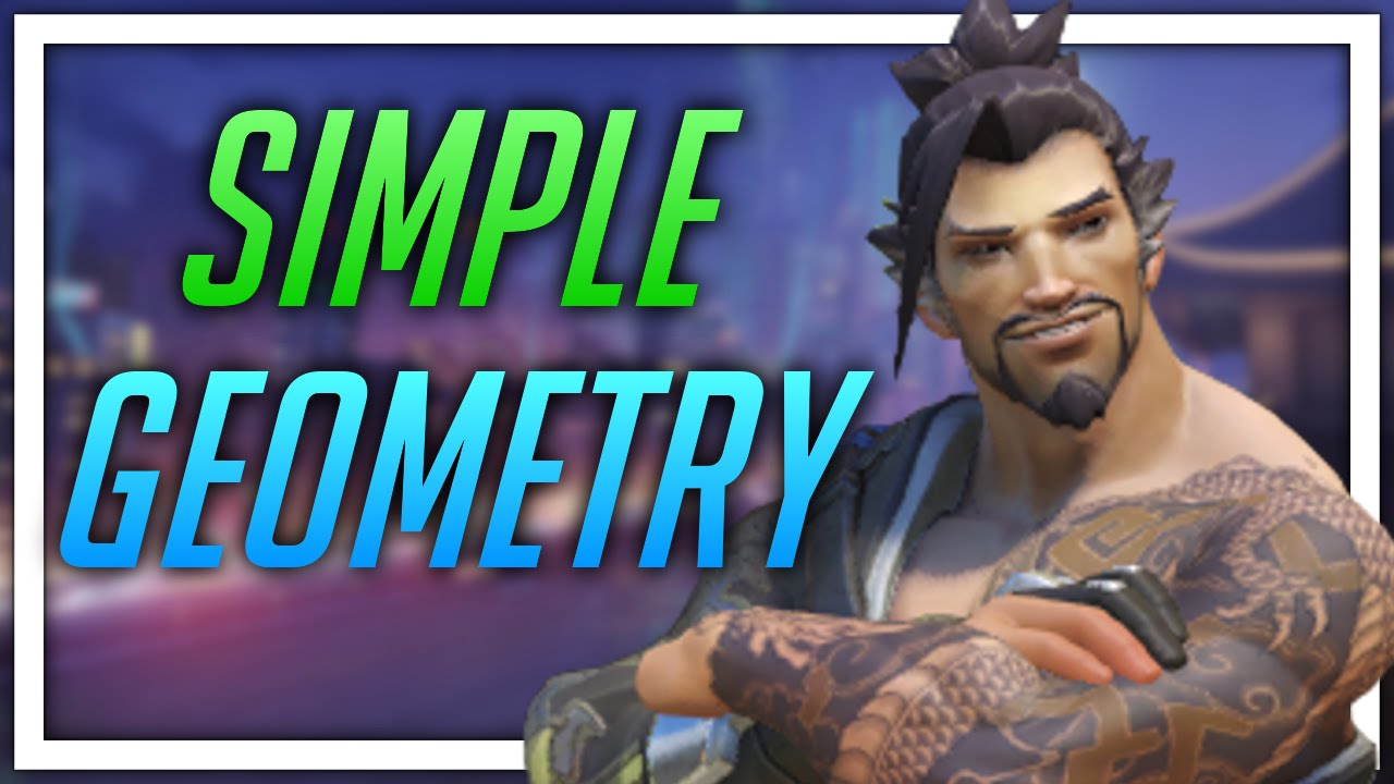 overwatch ptr simple geometry hanzo youtube