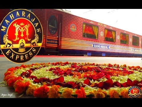 The Maharajas' Express- Recreating an Era of Elegant Travelling ...!