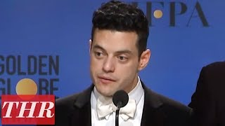 Golden Globes Winners for 'Bohemian Rhapsody' Full Press Room Speeches | THR