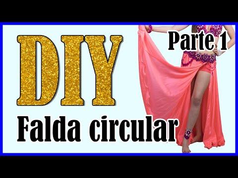 f0ed36af2 DIY- Falda circular o de vuelo para Danza Oriental (PARTE 1)