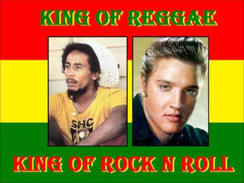ELVIS PRESLEY MEETS BOB MARLEY AND THE WAILERS - CRYING IN THE CHAPEL.wmv
