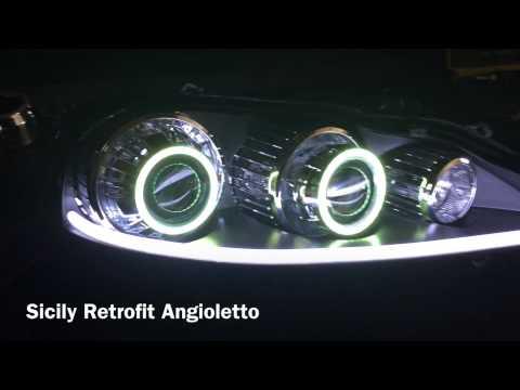 Sicily retrofit alfa romeo 147 restyling headlights tuning youtube