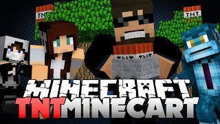 Minecraft TNT MINECART WARS - I NEED THE GUNPOWDER