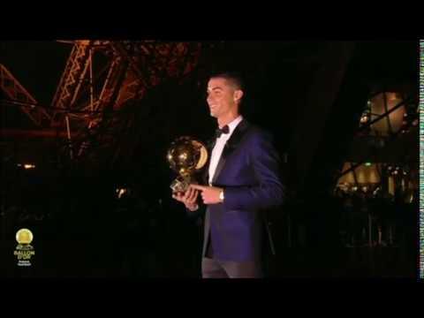 بي_بي_سي_ترندينغI #الكرة_الذهبية الخامسة ل #رونالدو ليعادل رقم #ميسي  - 18:21-2017 / 12 / 8