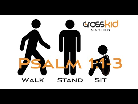 Walk. Stand. Sit. Psalm 1:1-3 (Official Lyric Video)