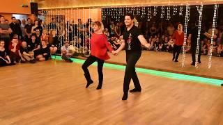 WEST COAST SWING show Zdeněk Doležal & Miroslava Doležalová