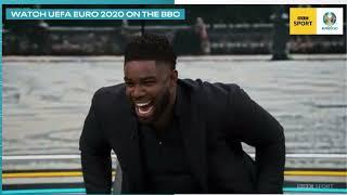 HILARIOUS!!! - MICAH RICΗARDS TROLLING GARY LINEKER!! - EURO 2020