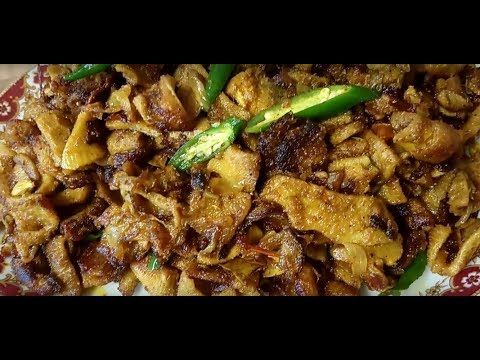 Cooking Lamb Tripe recipe, How to cook lamb stomach, Cooking animal tripe part 1