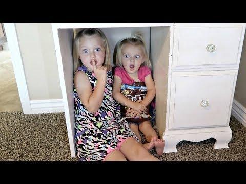 Cute Kids Surprise Hide and Seek!