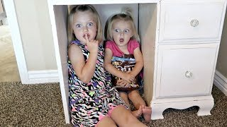 Cute Kids Surprise Hide and Seek!