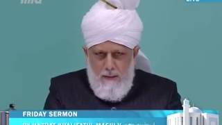Tamil Translation  Friday Sermon 13th December 2013   Islam Ahmadiyya