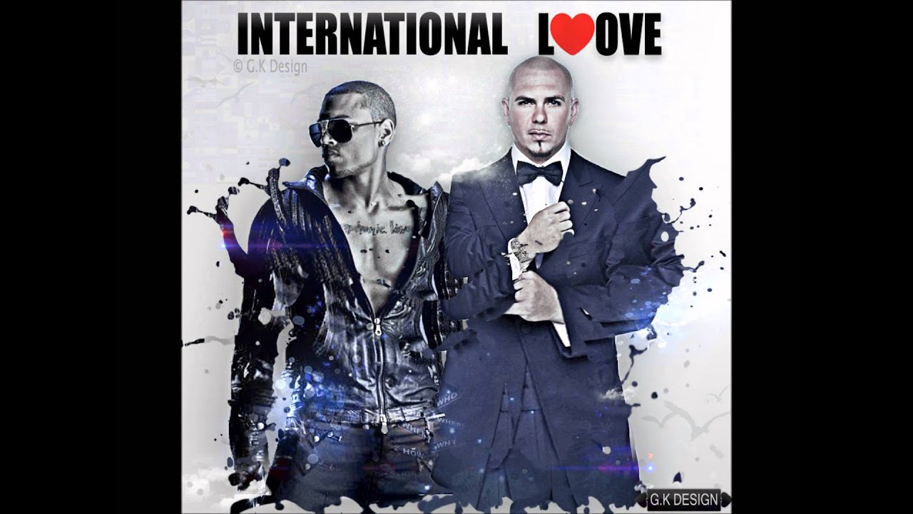 pitbull ft chris brown international love mp3 download