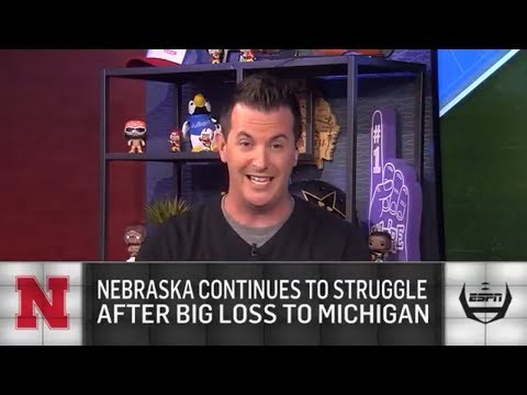 Reaction to Nebraska's 56-10 loss to Michigan | The College Football Show | ESPN