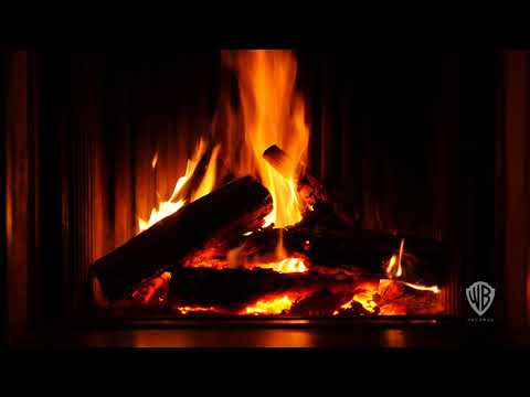 Classic Christmas Yule Log Fireplace in 4k HD Feat. over 2 Hours Of Holiday Music!