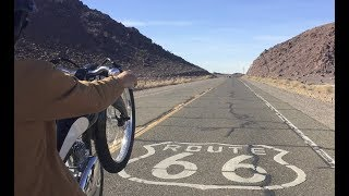FILMING AN E-BIKE COMMERCIAL ON ROUTE 66