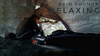 Camping In Heavy Rąin | Relaxing with the sounds of Rain