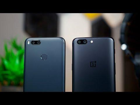 Xiaomi Mi A1 vs OnePlus 5 Camera Comparison
