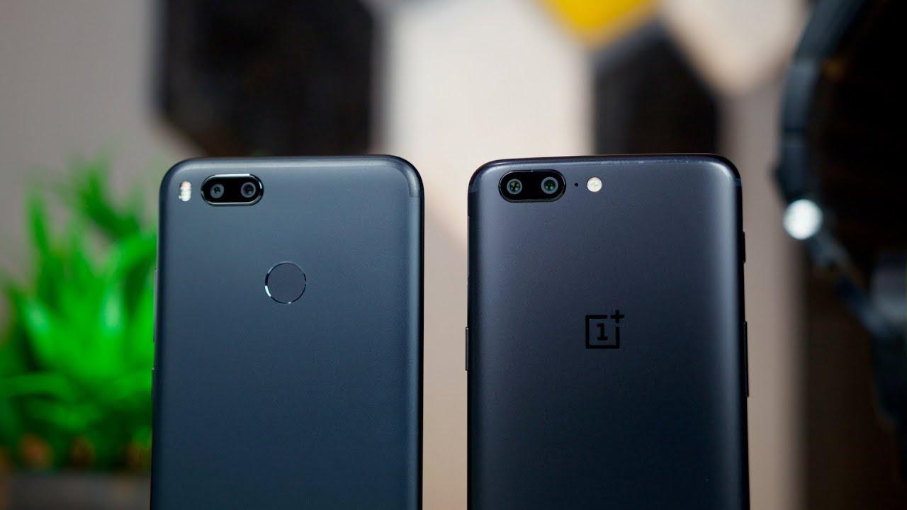 Xiaomi Mi A1 Vs Oneplus 5 Camera Comparison Youtube