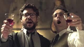 La casa de papel (berlin y el profesor canta bella ciao Video