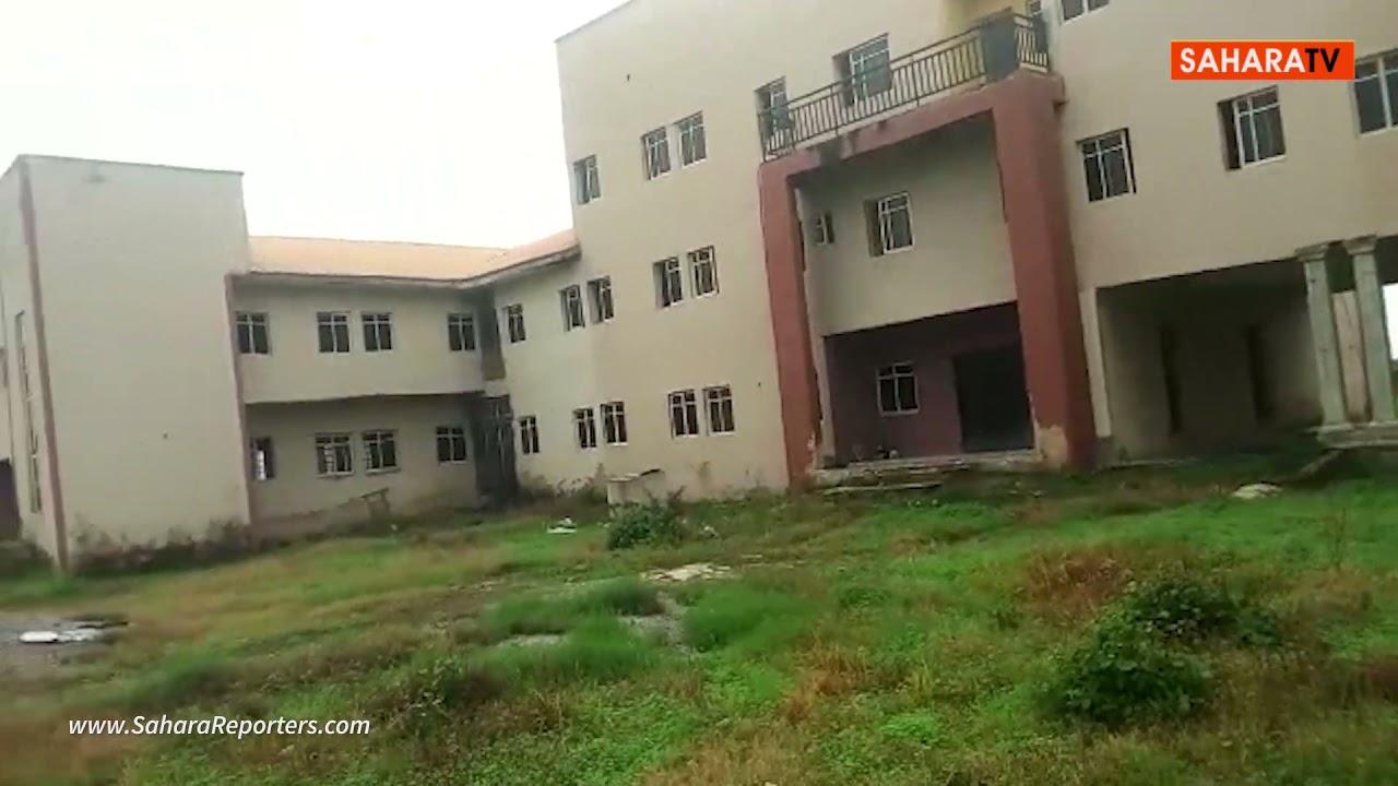 Kogi Government Officials Turn Abandoned Multi million Secretariat To Rice Farm