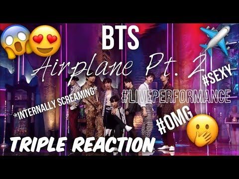 BTS (방탄소년단) AIRPLANE PT. 2 LIVE PERFORMANCE REACTION (COMEBACK SHOW, ELLEN & MUBANK)
