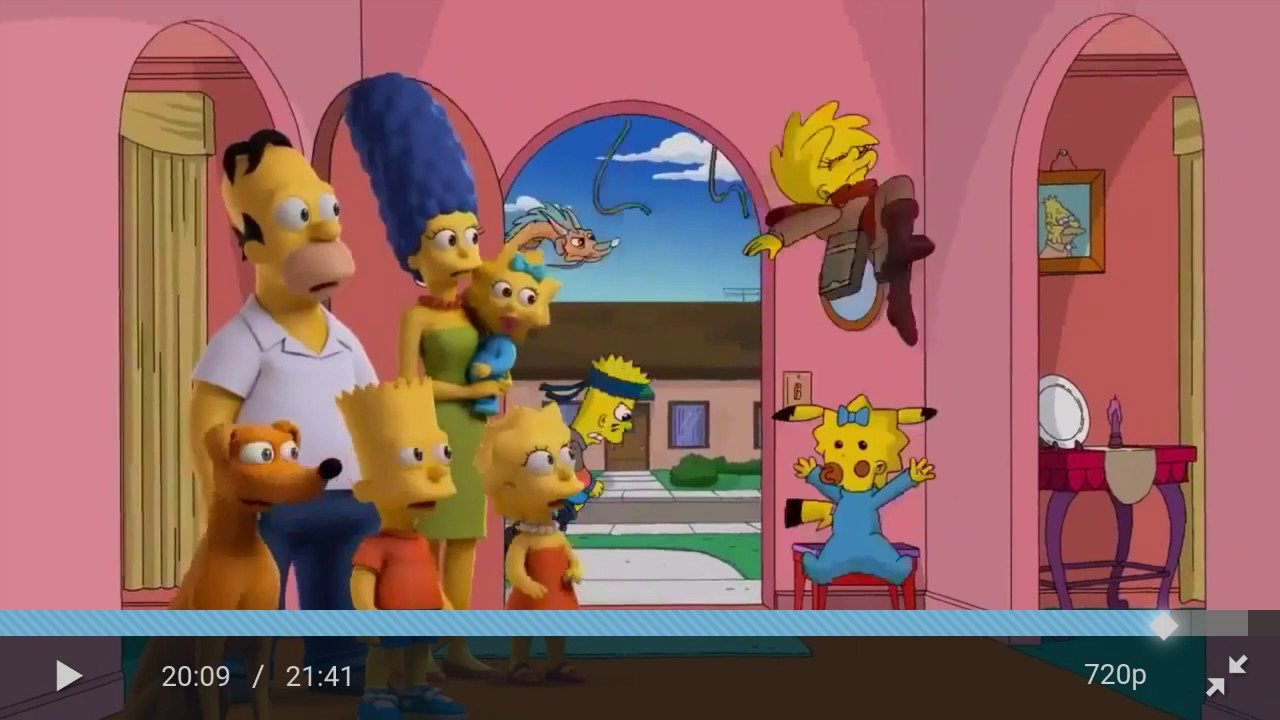 Mandela Effect Proofevidence Of Pikachus Tail On The Simpsons