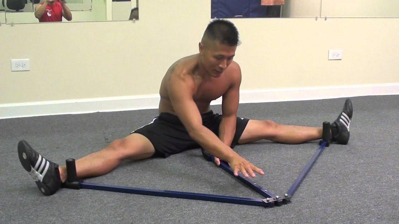 Leg Stretcher Split Training - YouTube