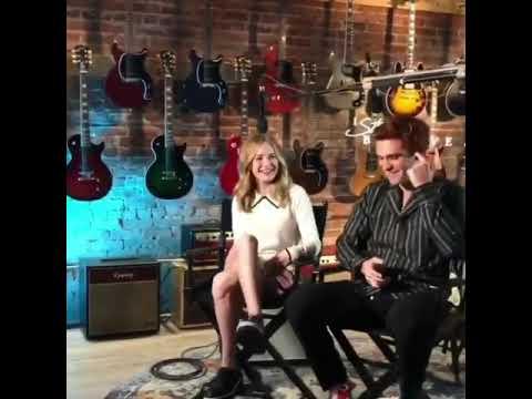 ┆🎥┆   ▸ Britt Robertson e KJ Apa durante il Press Tour per Cosa Mi Lasci Di Te presso The Gibson Sh