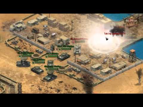 GLOBAL WAR (MMORTS browser game) - Officially trailer