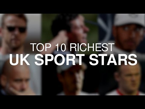 Sunday Times Rich List - UK's Wealthiest 10 Sport Starts