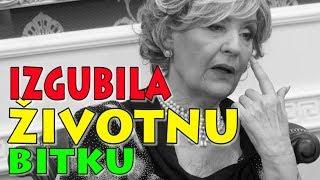 TUGA Lepa Lukić IZGUBILA životnu bitku