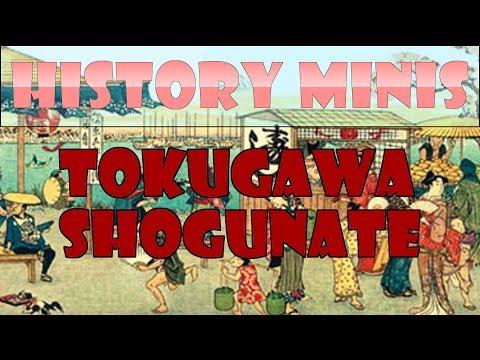 History Mini #1 | Tokugawa Shogunate