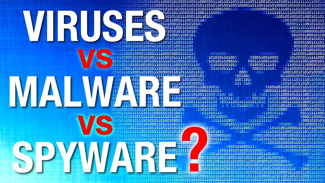 Was ist der Unterschied: Computervirus vs. Malware, vs. Spyware usw.? + video