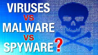 What's the Difference: Computer Virus vs Malware, vs Spyware, etc?