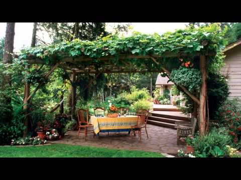 edible landscape design - YouTube