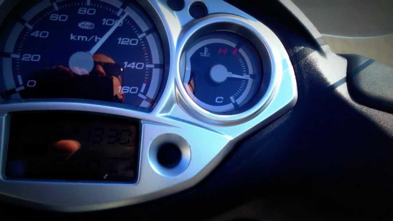 Yamaha X City  Top Speed
