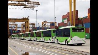 Llegan buses eléctricos para reforzar operación del Mío