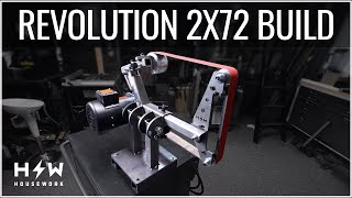 How to: Build a 2x72 Belt Grinder - Generation 4 Revolution