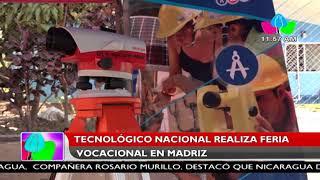 Tecnológico Nacional realiza feria vocacional en Madriz