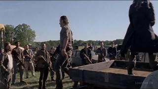 Ходячие мертвецы 8 сезон Речь Рика Часть 2