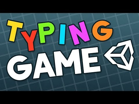 How to make a Typing Game in Unity (Livestream)