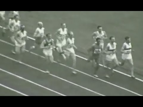 Helsinki 1952   [Josy Barthel]  1500m Finale (Amateur Footage)