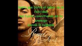 Tu Rival Romeo Santos Ft Mario Domm Letra c: