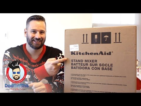 5 qt KitchenAid Artisan Stand Mixer Unboxing & Review