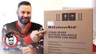 5 qt KitchenAid Artisan Stand Mixer Unboxing & Review