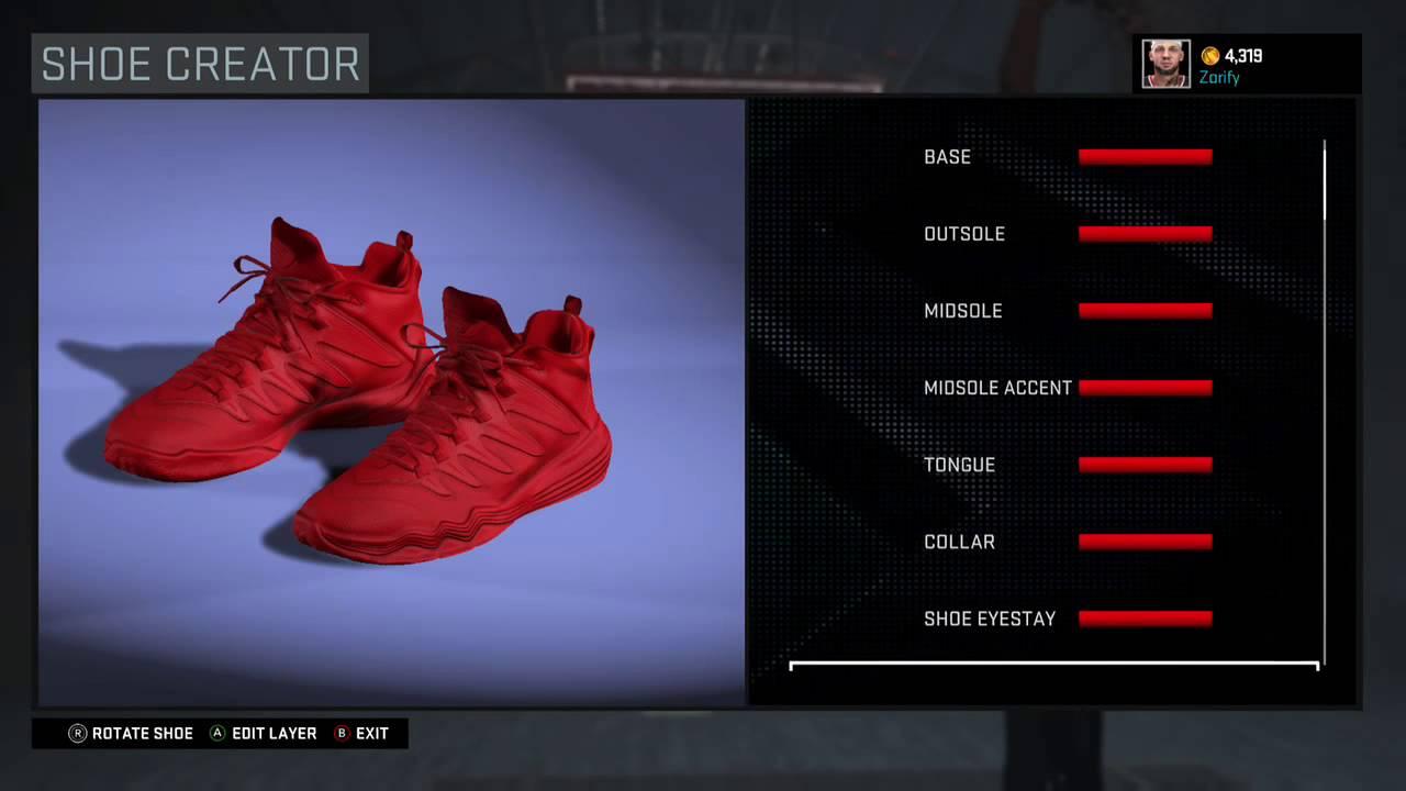 new york 54c7f 8d61c NBA 2K16 Shoe Creator - Jordan CP3 9