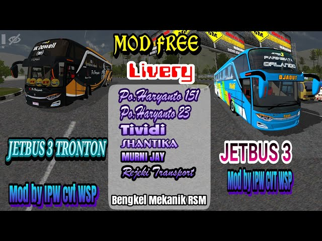 UPDATE Mod Jetbus 3 Tronton & Jetbus 3 shd + livery
