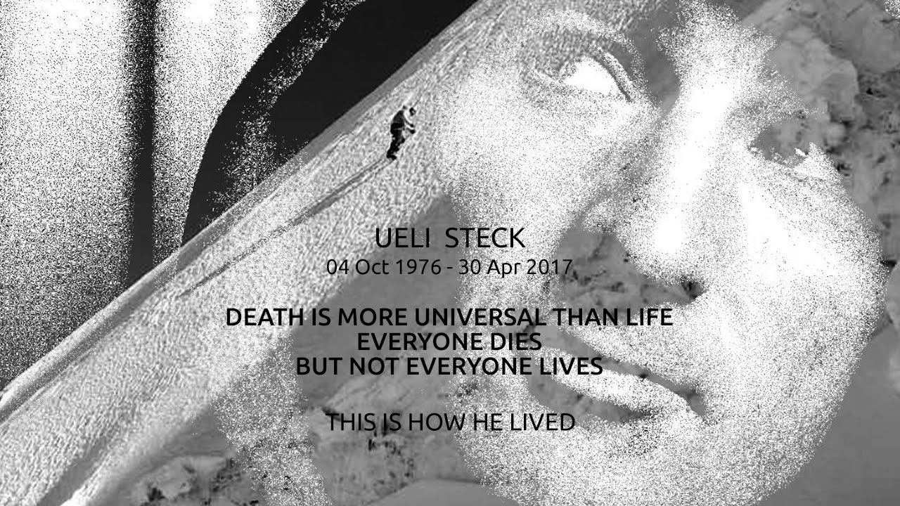 Ueli steck new speed record eiger 2015 youtube - Ueli Steck 04 10 1976 30 04 2017 This Is How He Lived