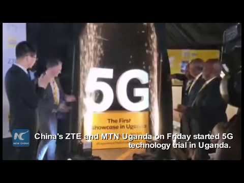 China's ZTE, local telecom firm start 5G technology trial in Uganda 2