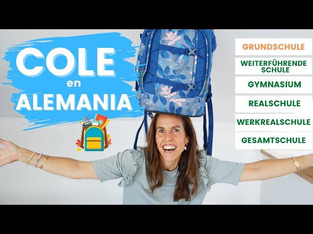 Cómo funciona el sistema escolar en Alemania. De la Grundschule a la weiterführende Schule 🏫🎒📚